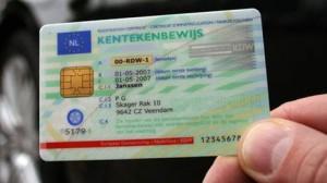 kentekenbewijs creditcard