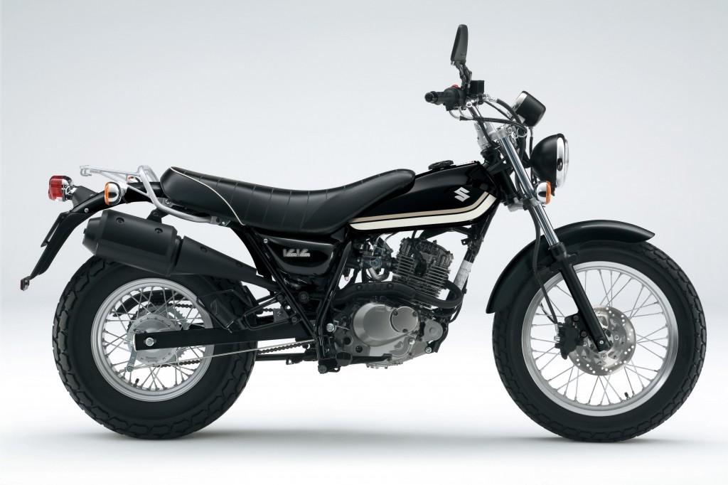 Suzuki VanVan 125 zwart