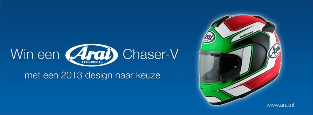 Arai-nl - Bnnr v Print - Actie gratis Chaser-V 01-01