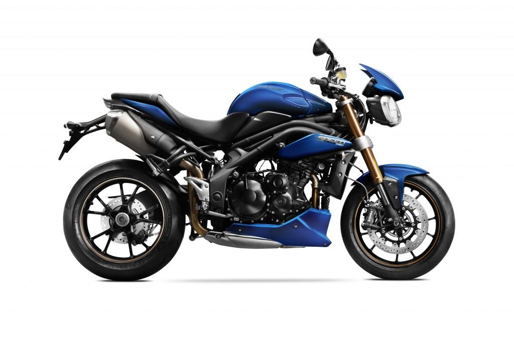 MY14_Speed Triple 1050_Matt Caspian Blue_RHS